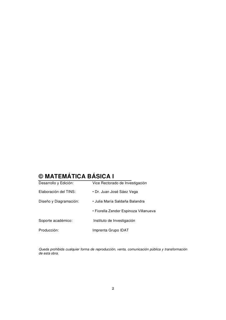 Libro matematica basica Slide 2