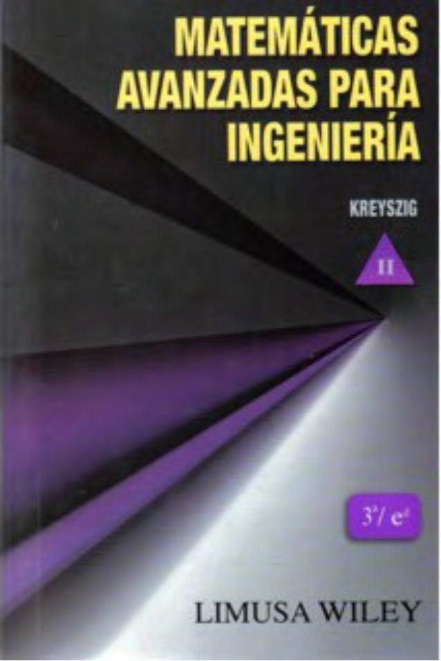 Matematicas avanzadas Para  ingenieria Limusa Wiley