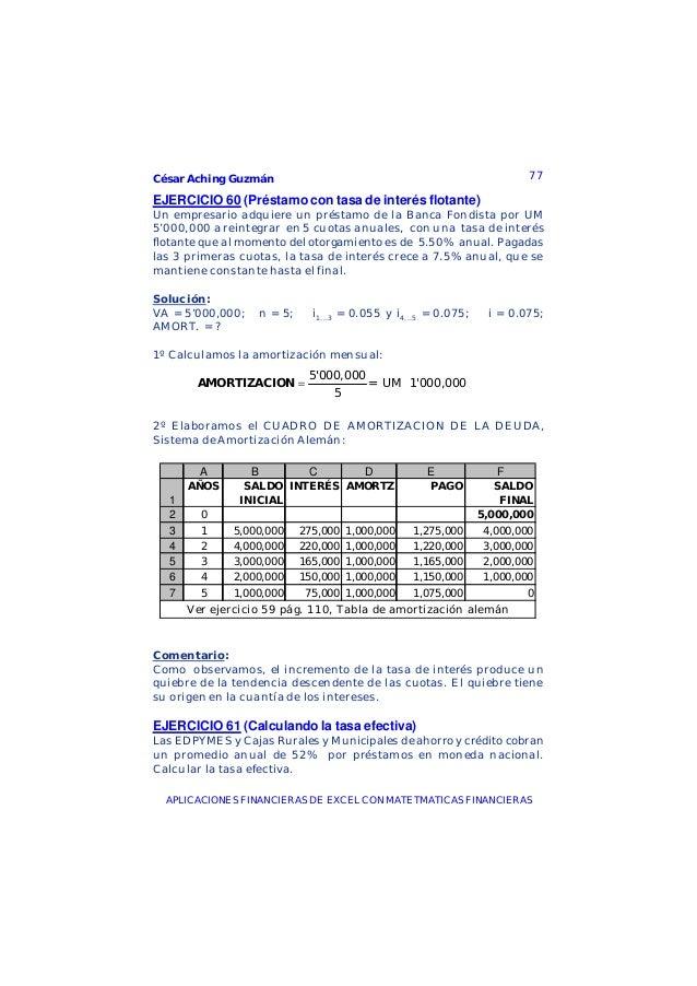 Libro matematicas financieras en excel