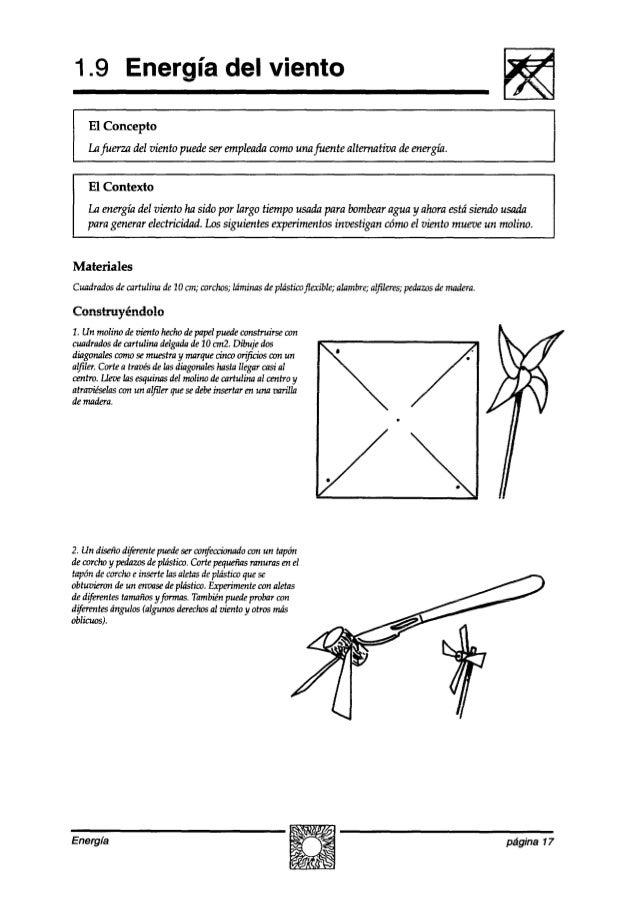 1.9 Energía del viento I El Concepto Lufuerza del viento puedeserempleadacomounafuente alternativa deenergíá. El Contexto ...