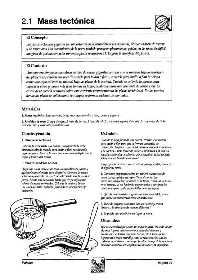 2.1 Masa tectónica El Contexto Una manerasimple deintroducir la ideadeplacasgigantes derocasqufzse mmen bajo la supeg5c-k ...