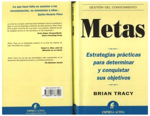 Resultado de imagen para METAS – BRIAN TRACY