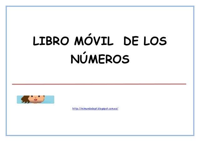 LIBRO MÓVIL DE LOS NÚMEROS http://mimundodept.blogspot.com.es/