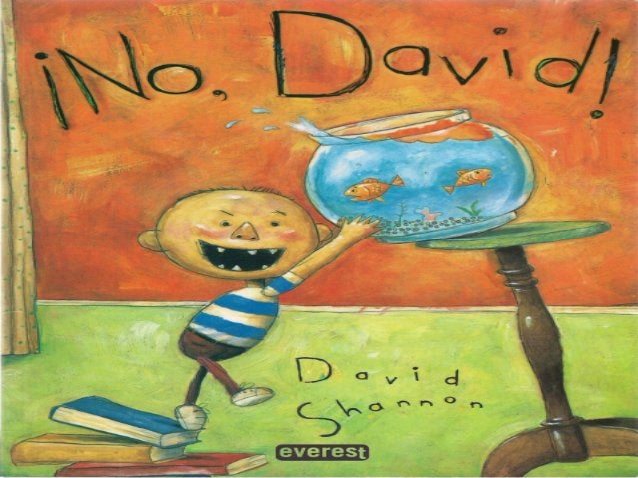 Cuento ¡No, David!
