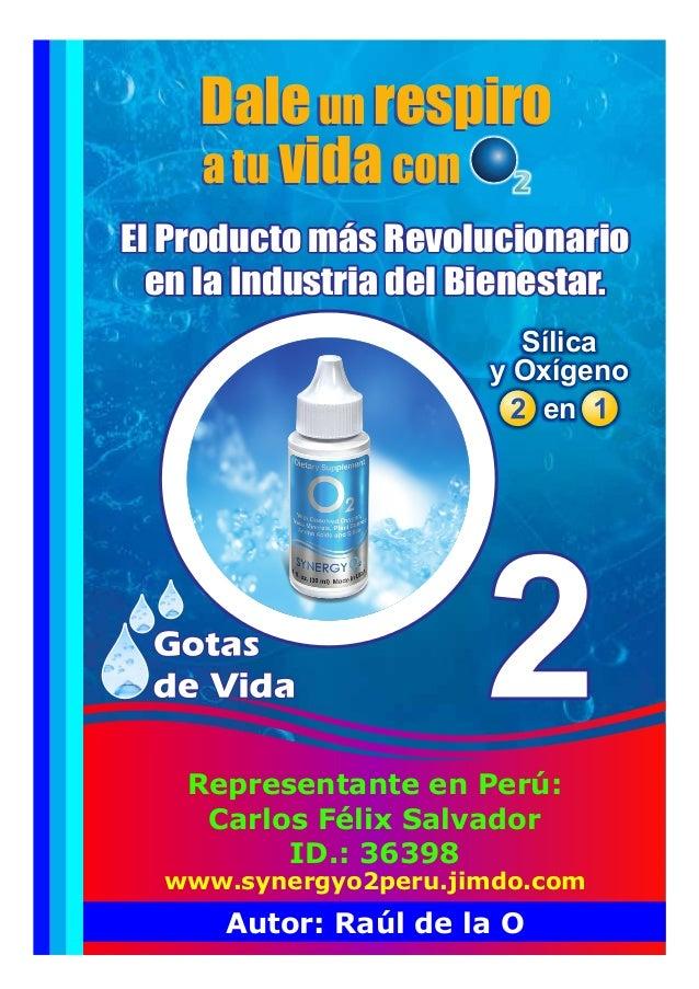 Sílica y Oxígeno en El Producto más Revolucionario en la Industria del Bienestar. El Producto más Revolucionario en la Ind...