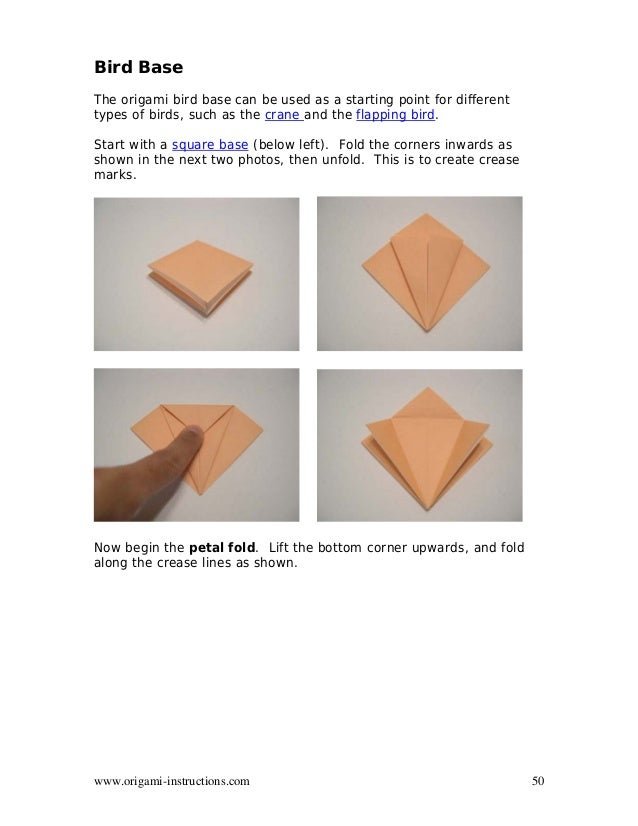 Origami how-to: paper crane - The Mancunion | 826x638