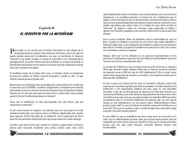 Libro original de la doble moral en la polic a nacional - Lntoreor dijin ...