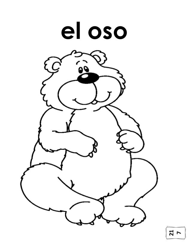Hermosa Tener Familia De Oso Para Colorear Cresta - Dibujos Para ...