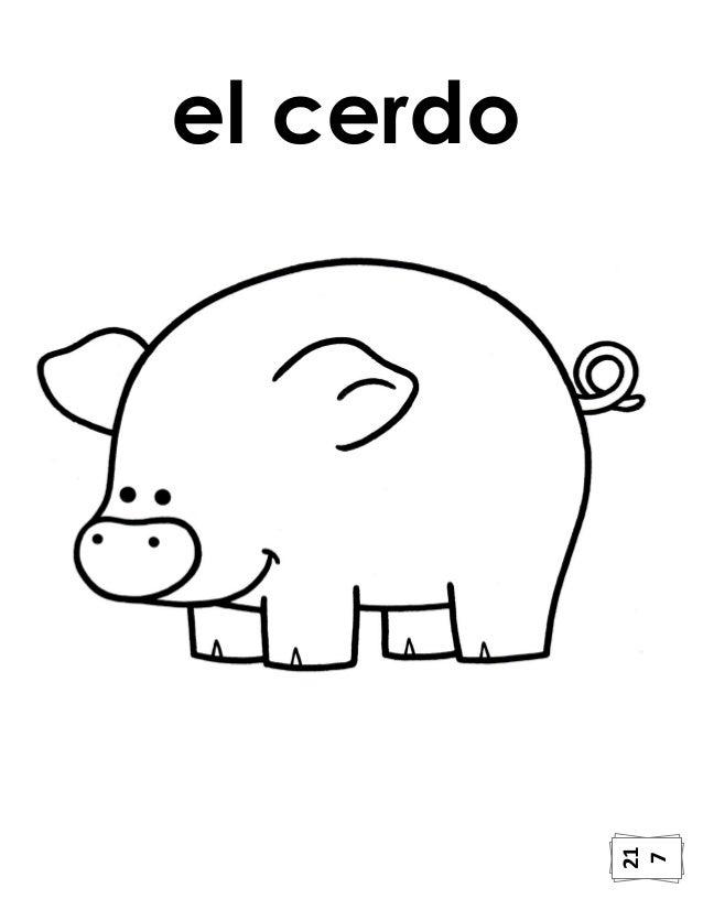 Perfecto Hoja Para Colorear De Cerdo Inspiración - Dibujos Para ...