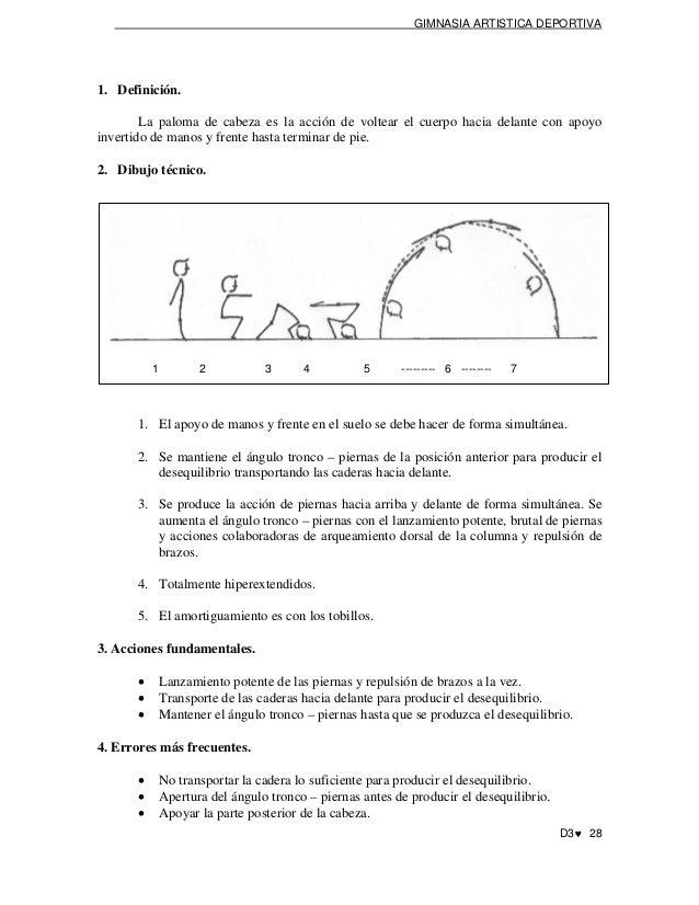 Libro para desallar gimnasia artistica for Definicion de gimnasia