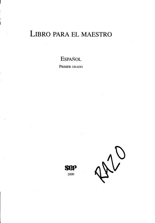 Libro paraelmaestroespañol