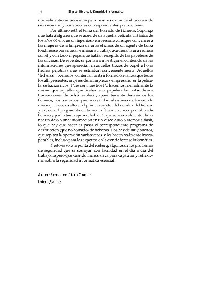 Capítulo 3: ETIMOLOGÍA DE FOO Aproximadamente 212 RFCs, alrededor del 7% de losRFCs, comenzando con el [RFC269], contienen...