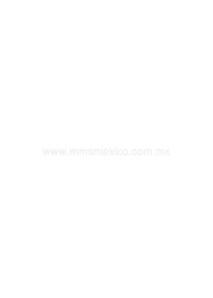 www.mmsmexico.com.mx           Visitar www.mmsmexico.com.mx para información de cómo adquirir MMS