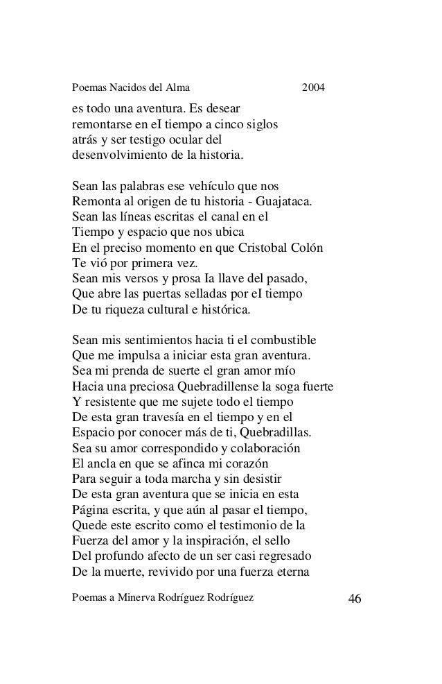 Libro Poemas Nacidos Del Alma
