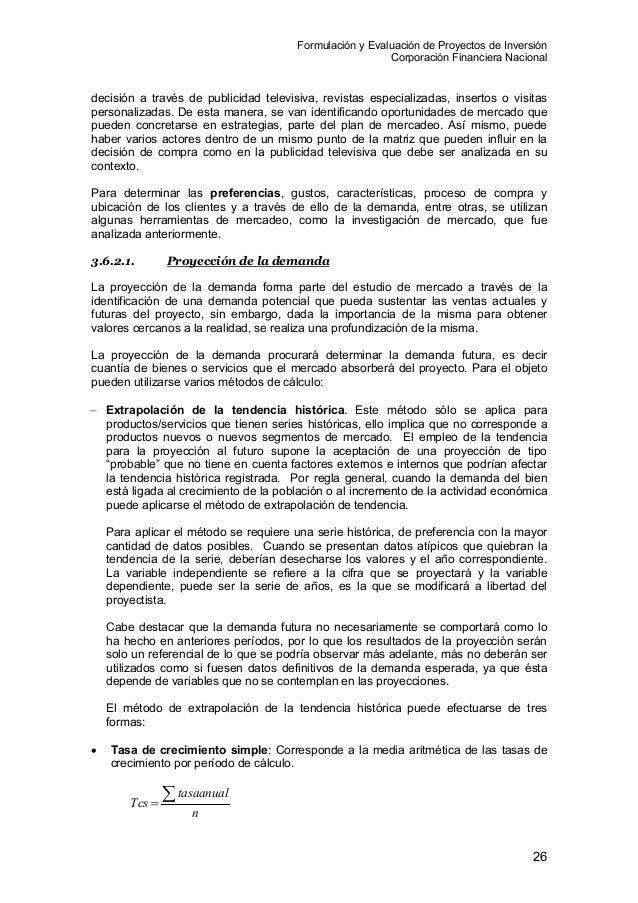 Formulacion y evaluacion de proyectos baca urbina