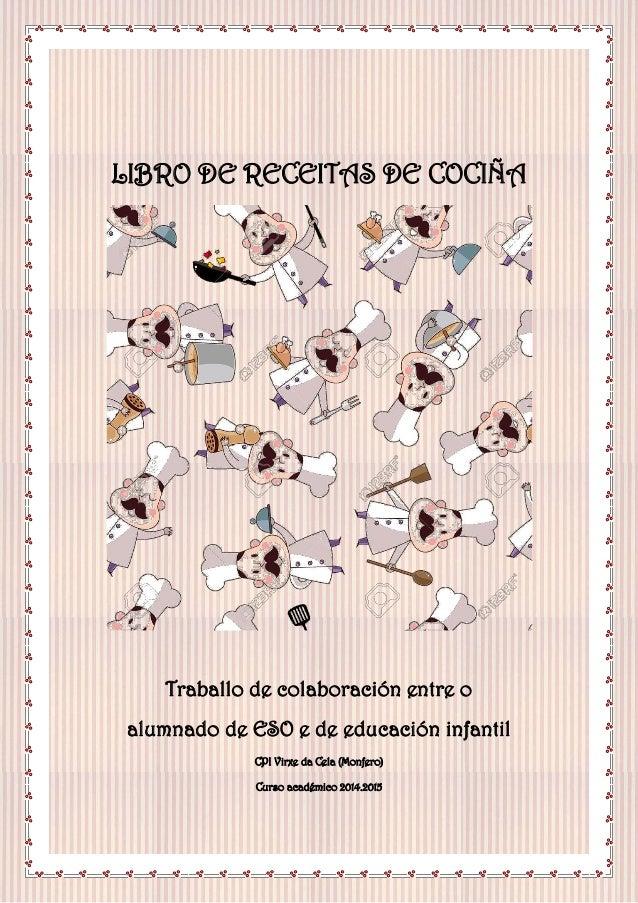 1313110 @e Recenqqà @e cociñqi    gi           Traballo dz eolaboraeión zntrz o  alumnado dz õâO z dz zducación infantil  ...