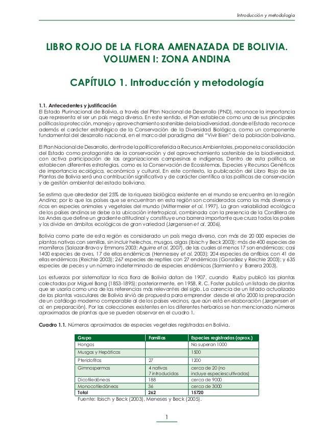 Introducción y metodología •  Proyecto del Cerrado (entre 40-50 especies nuevas): http://www.la-razon.com/version.p...