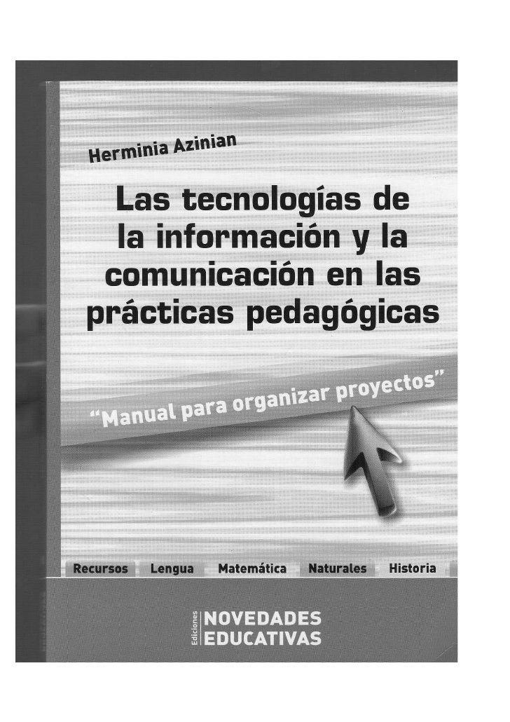 """Libro """"Las Tecnologías de la Información y la Comunicación en las prácticas pedagógicas"""""""