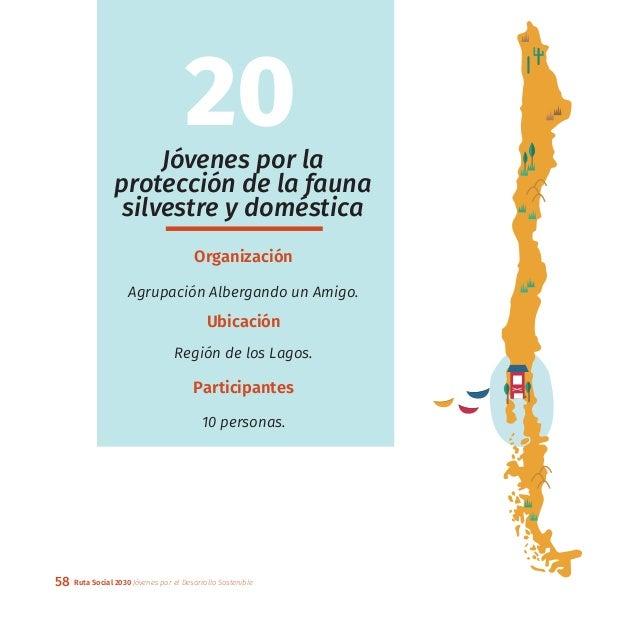 58 Ruta Social 2030 Jóvenes por el Desarrollo Sostenible Jóvenes por la protección de la fauna silvestre y doméstica Organ...