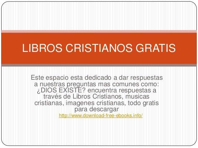 Libros Cristianos Gratis