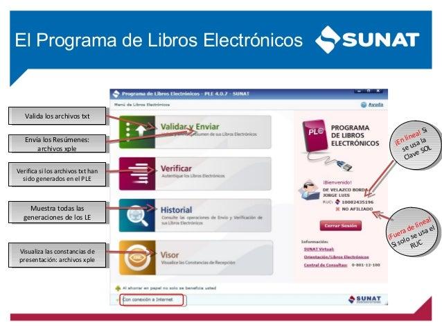 Libros Electronicos 2016 -sunat