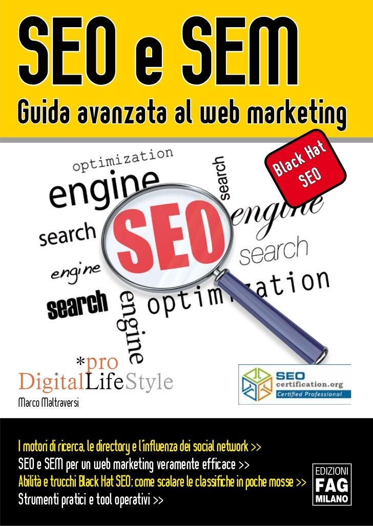 SEO e SEMGuida avanzata al web marketing                                                                             Hat  ...