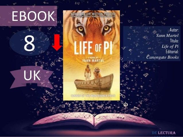 EBOOK                    Autor: 8            Yann Martel                    Título:              Life of Pi               ...