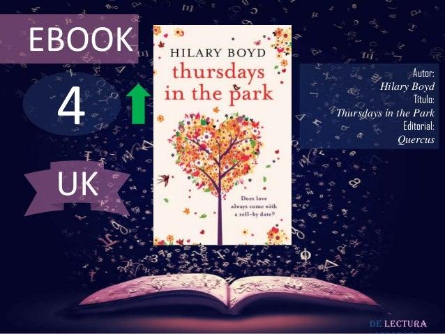 EBOOK                          Autor: 4                Hilary Boyd                          Título:        Thursdays in th...