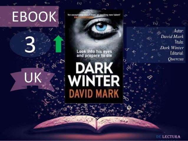 EBOOK                Autor: 3         David Mark                Título:         Dark Winter             Editorial:        ...