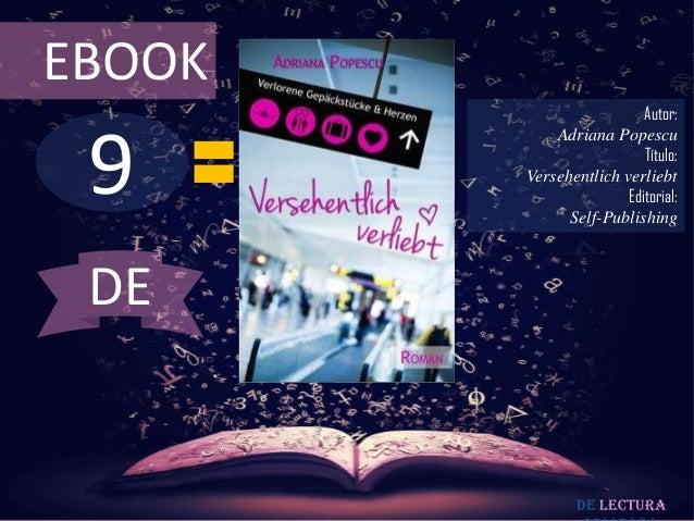 EBOOK                          Autor: 9            Adriana Popescu                          Título:        Versehentlich v...