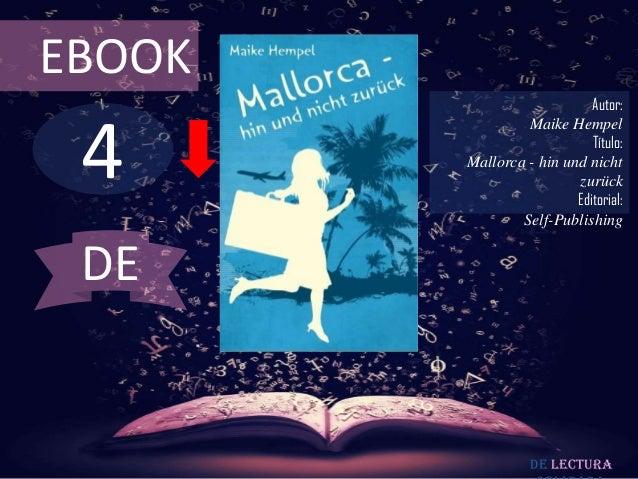 EBOOK                            Autor: 4                 Maike Hempel                            Título:        Mallorca ...