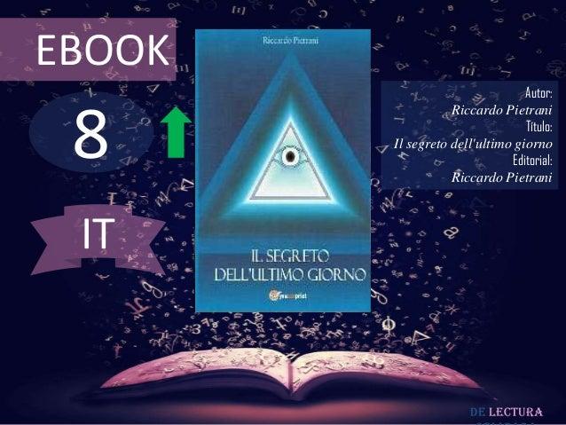 EBOOK                                 Autor: 8                   Riccardo Pietrani                                 Título:...