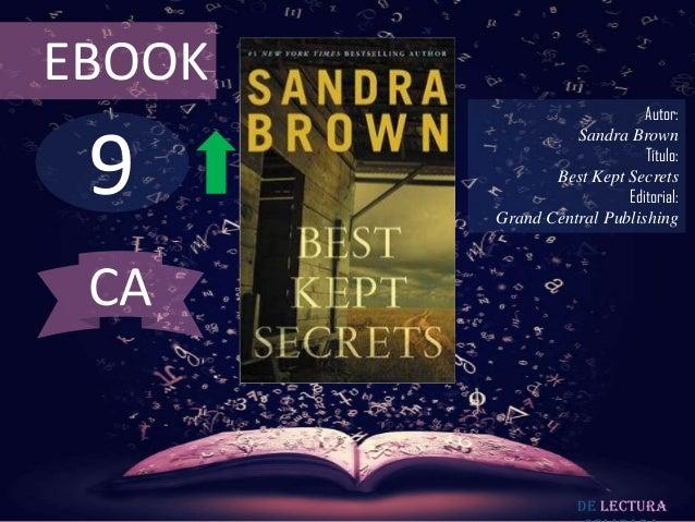 EBOOK                            Autor: 9                  Sandra Brown                            Título:               B...