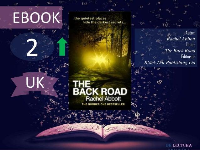 EBOOK                            Autor: 2                  Rachel Abbott                            Título:               ...