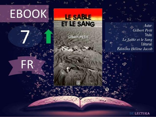 EBOOK                           Autor: 7                  Gilbert Petit                           Título:           Le Sab...