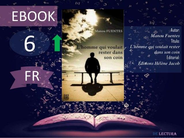 EBOOK                              Autor: 6                   Manou Fuentes                              Título:        Lh...