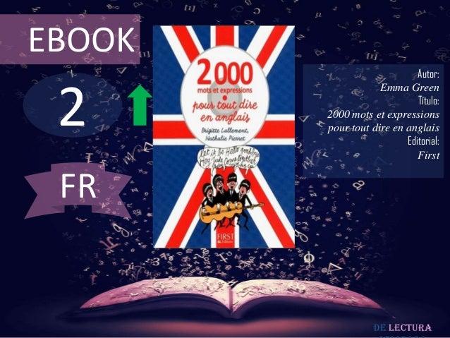 EBOOK                             Autor: 2                    Emma Green                             Título:        2000 m...