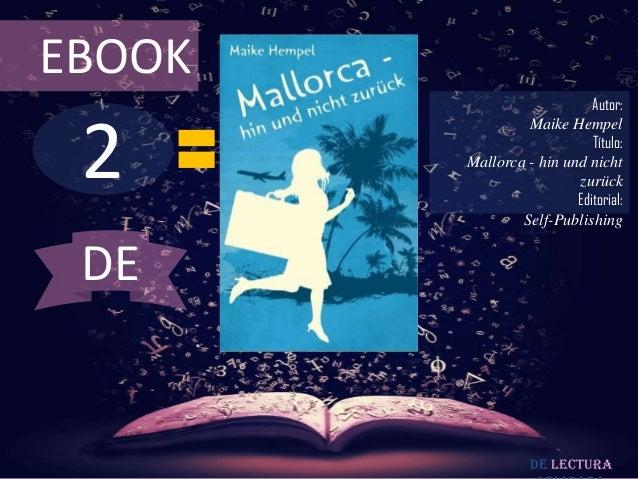 EBOOK                            Autor: 2                 Maike Hempel                            Título:        Mallorca ...