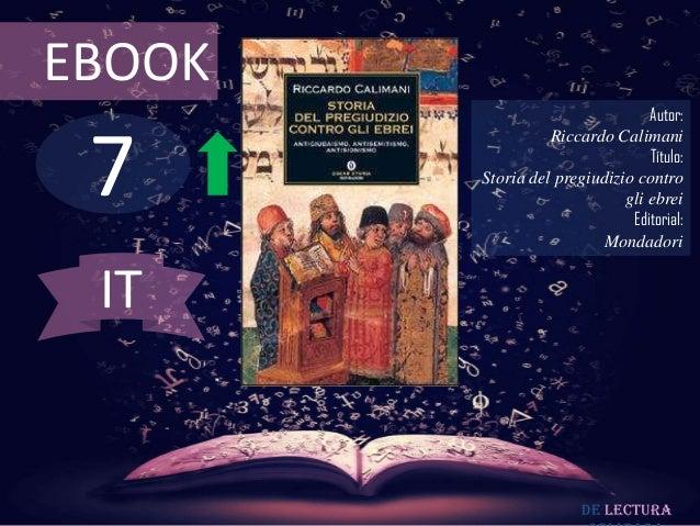 EBOOK                                 Autor: 7                  Riccardo Calimani                                 Título: ...