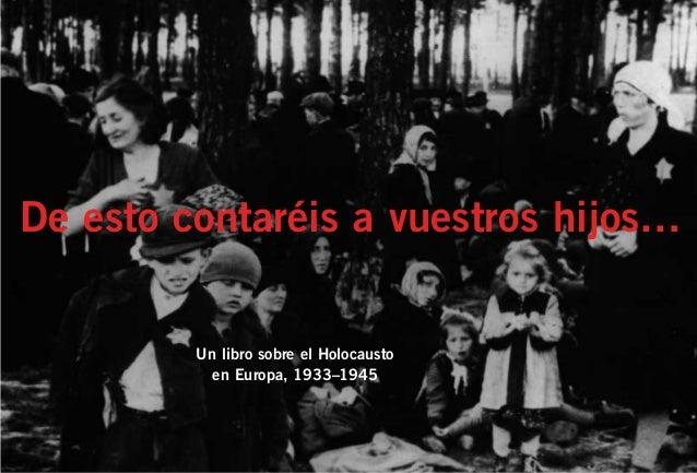 Libro sobre el holocausto en europa