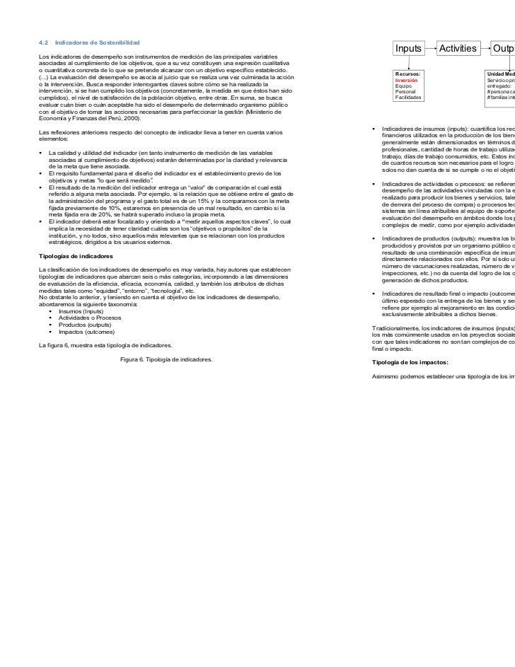 4.2     Indicadores de Sostenibilidad                                                                                     ...