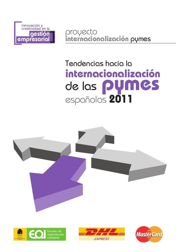 [ innovación y creatividad en la                     proyecto   gestiónempresarial      ]   internacionalización pymes    ...