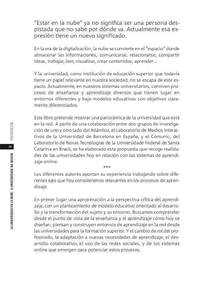 Libro Universidad En La Nube