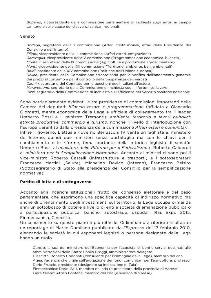 Libro verde for Commissione bilancio camera dei deputati