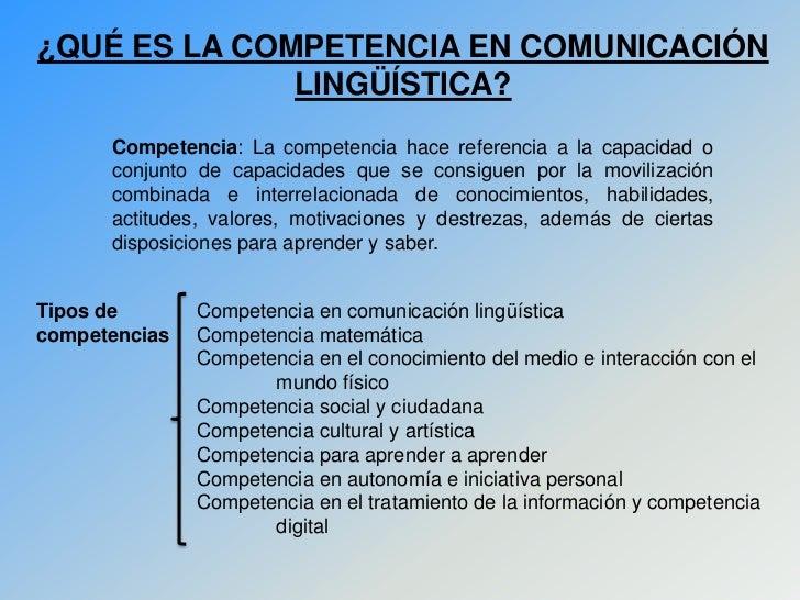 competencia ling u00fc u00edstica  un modelo de aprendizaje de la lengua
