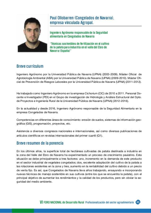 Libro VI Foro Nacional de Desarrollo Rural.