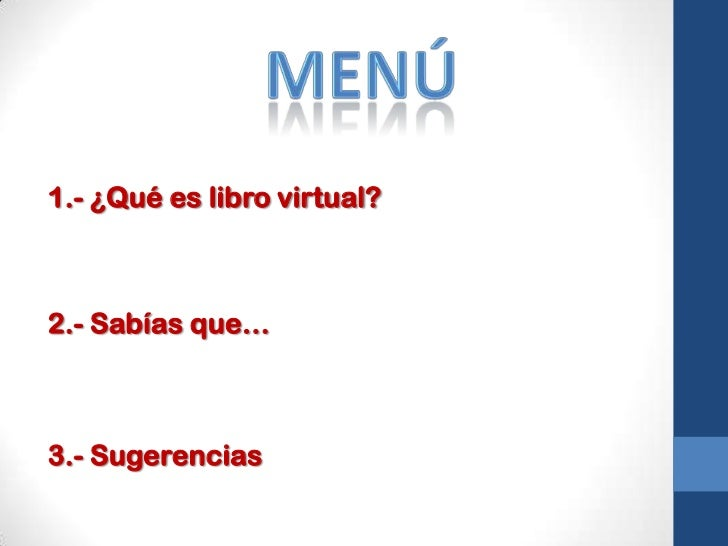Libro virtual Slide 2