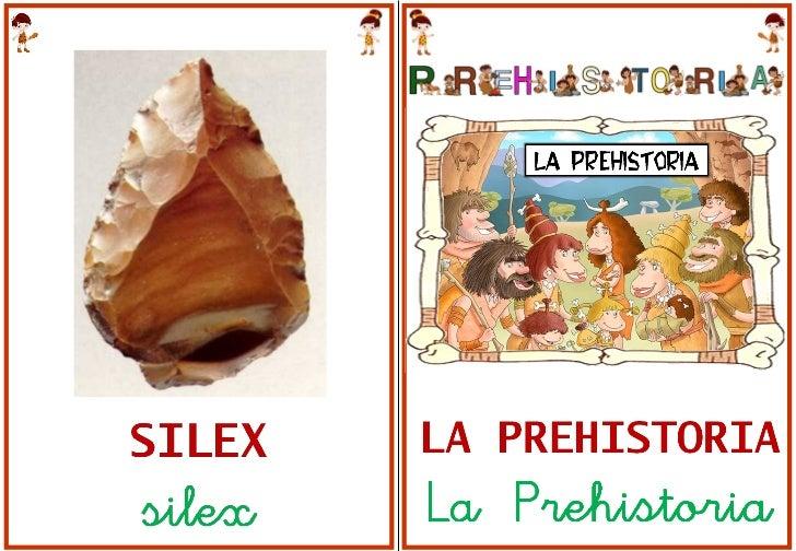 Libro  vocabulario prehistoria