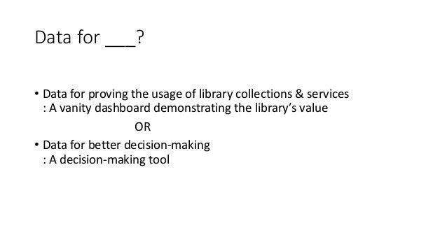 Visualizing Library Data Slide 2