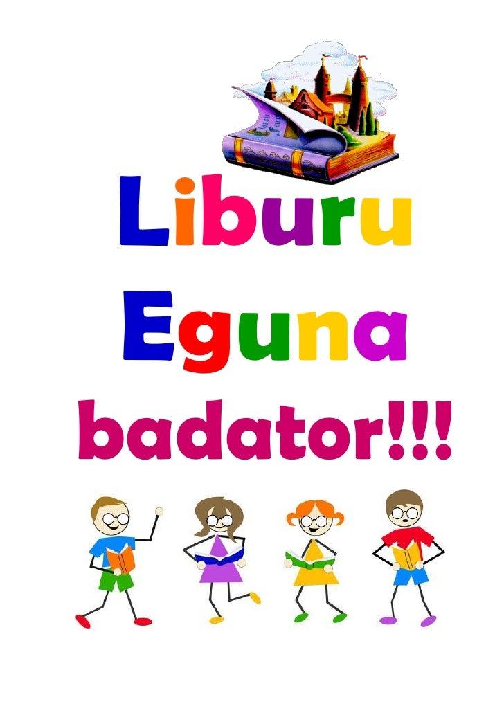 Liburu eguna-Orrialde adierazleak